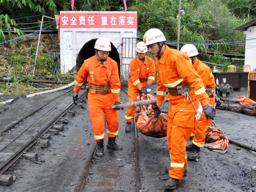 Acidente em mina de carvão na China (Reuters/China Daily Information Corp )