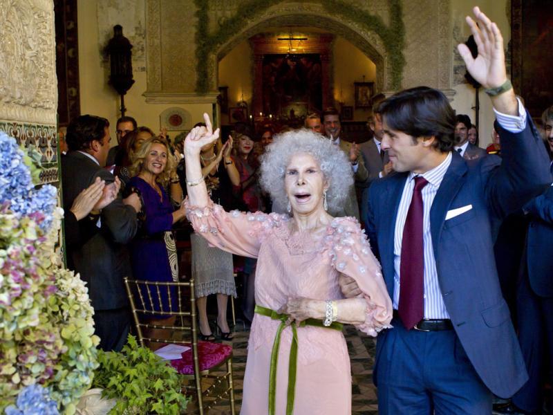 A duquesa de Alba já casou - EPA/JULIO MUNOZ