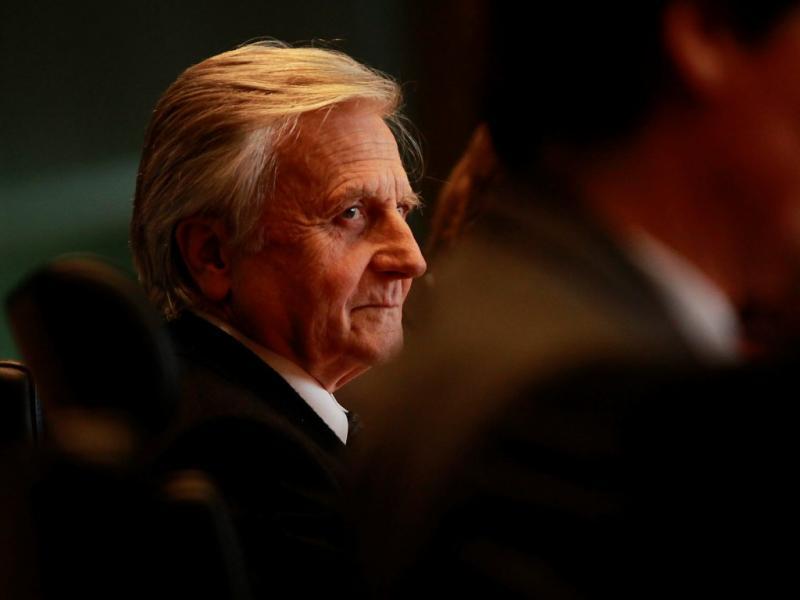 Trichet na última reunião de política monetária (EPA/TIMBRAKEMEIER)
