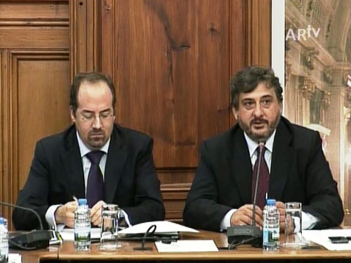 Álvaro Santos Pereira e Luís Campos Ferreira