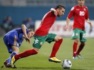 Ucrânia vs Bulgaria (LUSA/EPA/SERGEY DOLZHENKO)