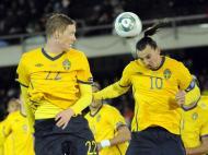 Finlandia vs Suécia (LUSA/EPA/Kimmo Brandt)