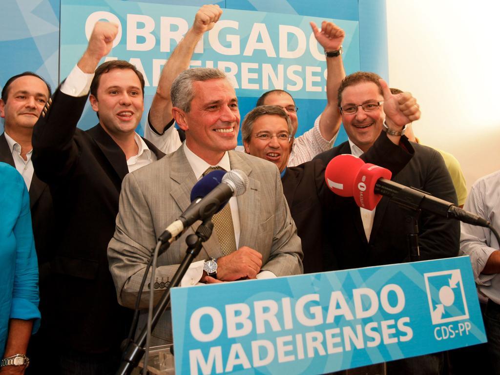 Festa do CDS na Madeira (GREGORIO CUNHA/LUSA)