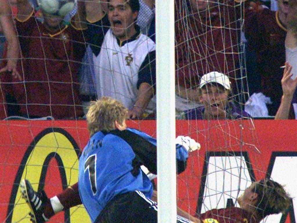 Euro 2000: Portugal-Alemanha, 3-0, hat trick de Conceição