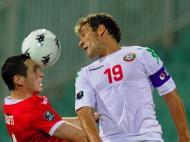 Bulgária vs País de Gales (EPA/Vassil Donev)