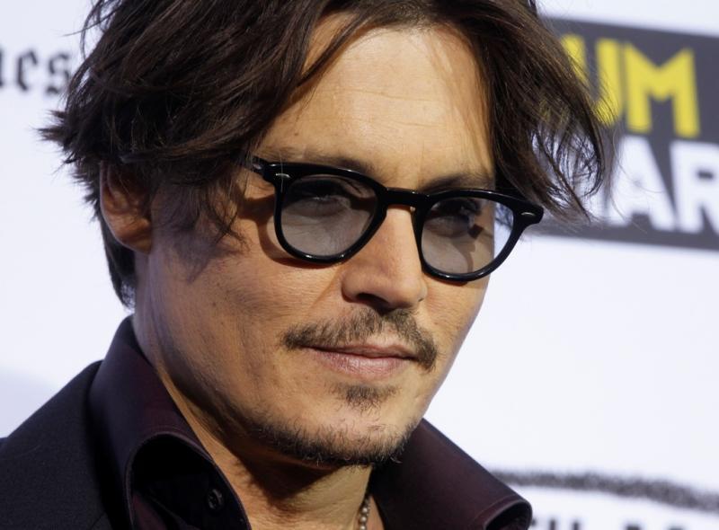 Johnny Depp na première de «The Rum Diary» em LA (foto Reuters)