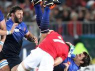 Râguebi: capitão de Gales expulso, França na final do Mundial