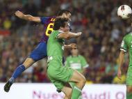 Barcelona vs Racing Santander (EPA/Alejandro Garcia)
