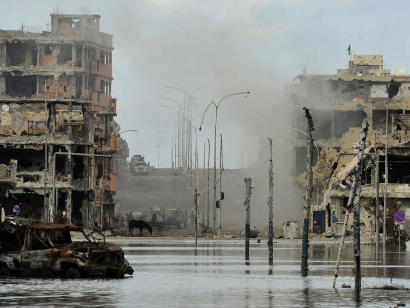 Sirte: a cidade natal de Khadafi em ruínas - Reuters\Esam O Al-Fetori