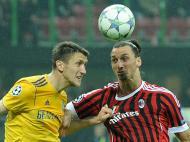 Milan vs Bate Borisov (LUSA/EPA/DANIEL DAL ZENNARO)