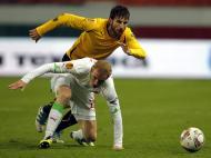 Lokomotiv Moscow vs AEK Athens (EPA/YURI KOCHETKOV)