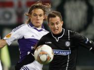 Sturm Graz vs Anderlecht (EPA/MARKUS LEODOLTER)