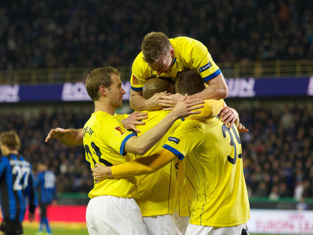 Club Brugge vs Birmingham (EPA/KURT DESPLENTER)