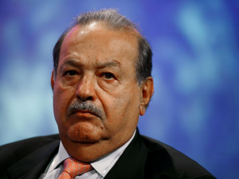 Carlos Slim Helu, o homem mais rico do Mundo ( REUTERS/Allison Joyce)