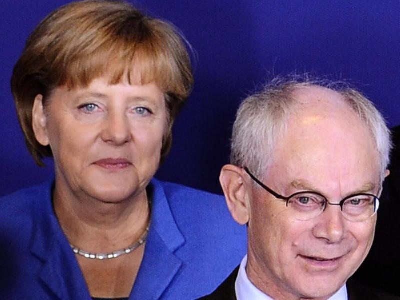 Conselho Europeu, Merkel e Rompuy