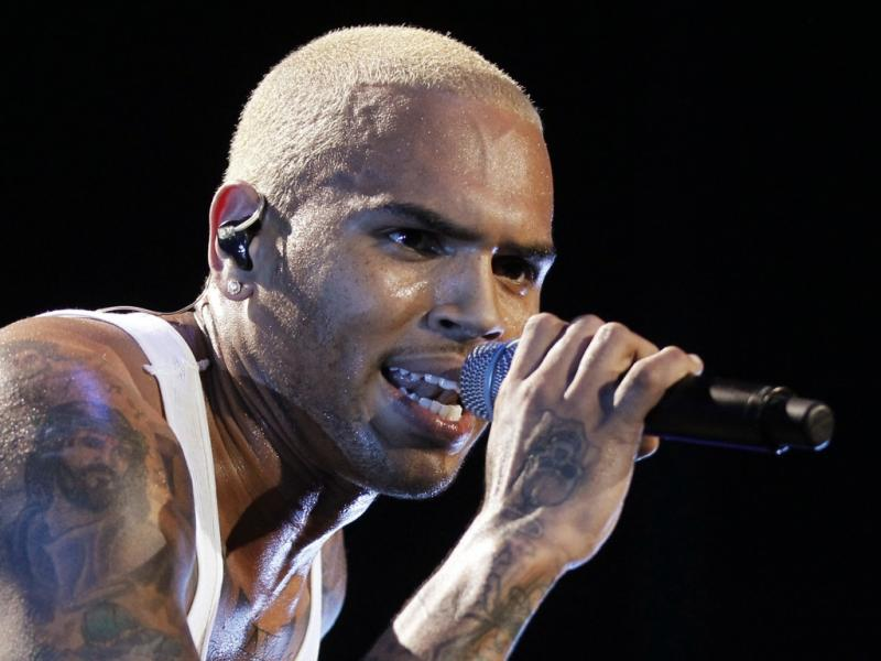 Concerto de Chris Brown em Los Angeles (Reuters)