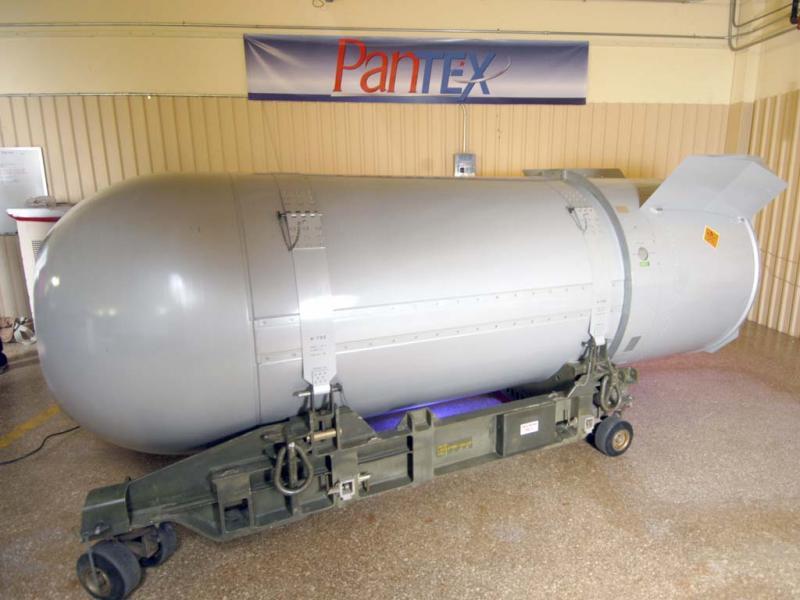 Desmantelamento de bomba nuclear (foto: Ho New)