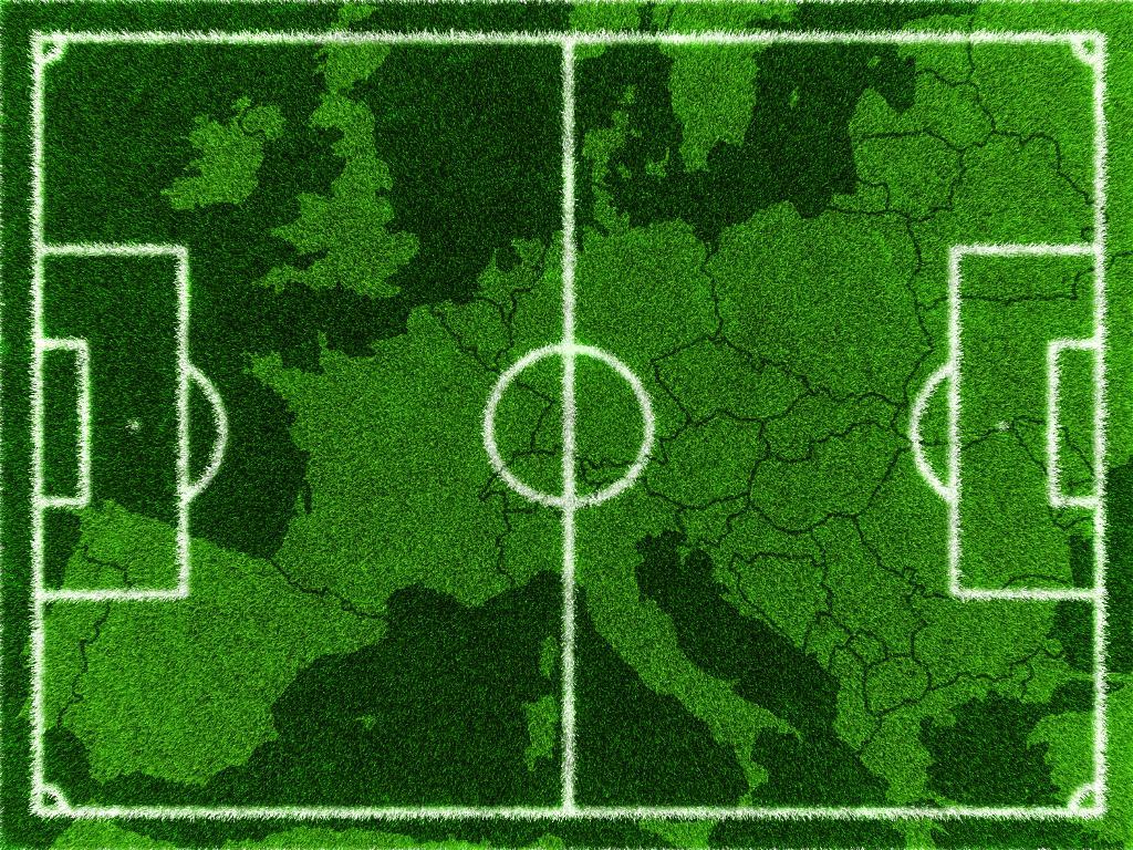 Europa Mapa Futebol