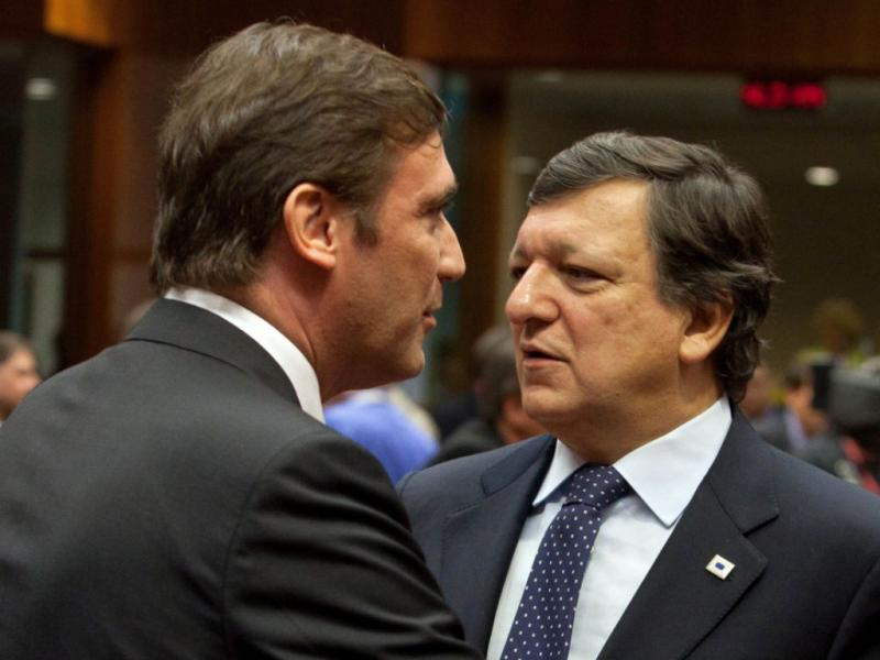 Conselho Europeu: Passos Coelho e Durão Barroso