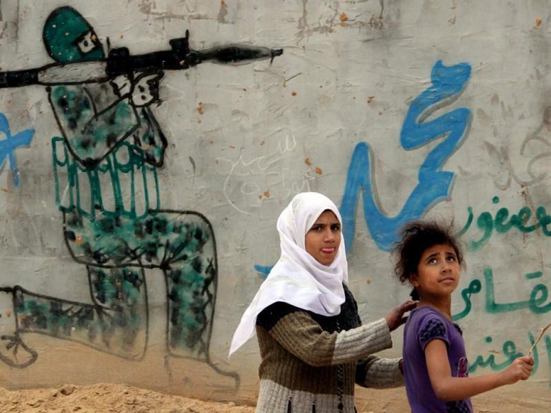 Confrontos na Faixa de Gaza (EPA/MOHAMMED SABER)
