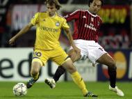 BATE Borisov vs Milan (EPA)