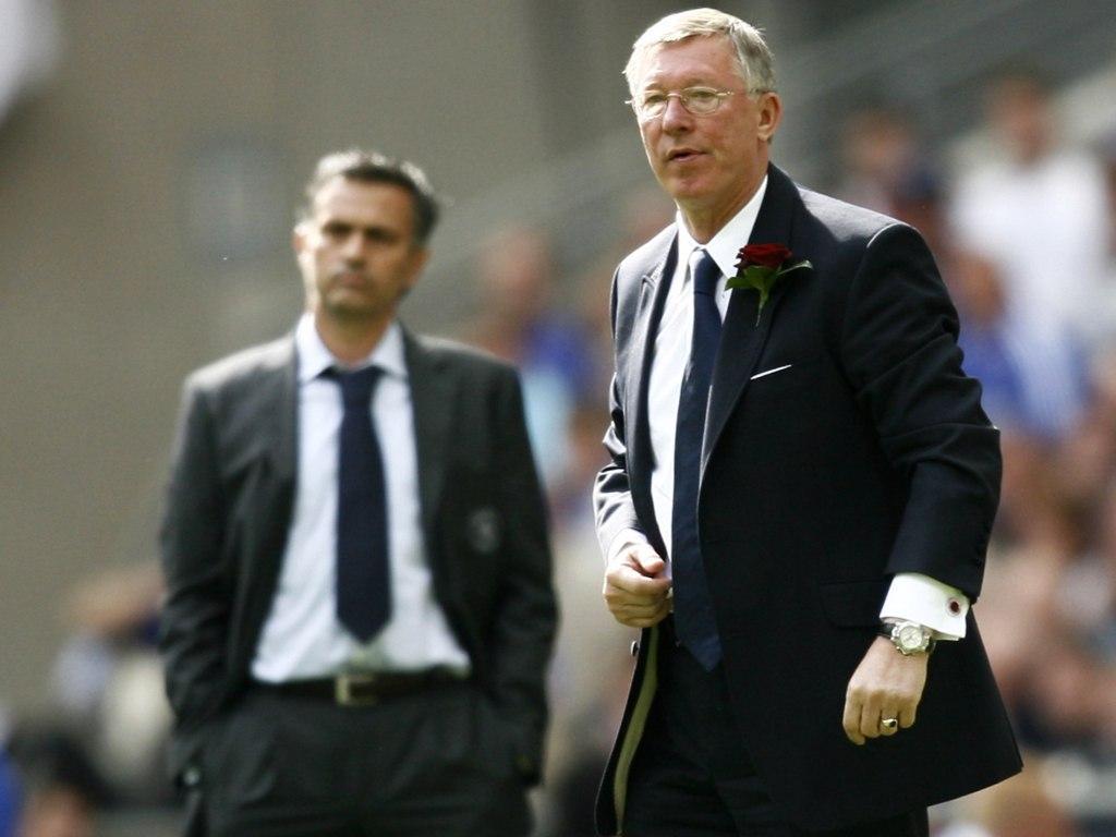 Alex Ferguson e Mourinho