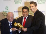 Di Stefano, Eusébio e Cristiano Ronaldo - Bota de Ouro - Fotos: Reuters