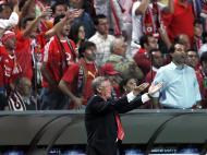 Ferguson, 25 anos: no Estádio da Luz, em 2006