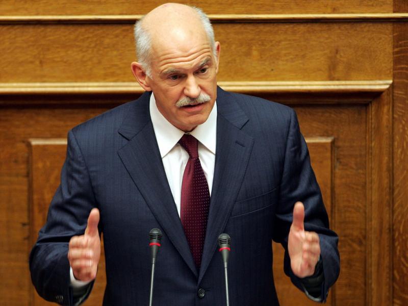George Papandreou - EPA/ALEXANDROS VLACHOS