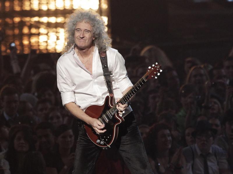Brian May nos MTV Europe Music Awards (foto: Reuters)