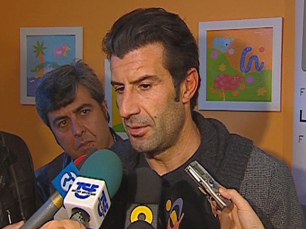 Luís Figo fala da selecção e do Sporting