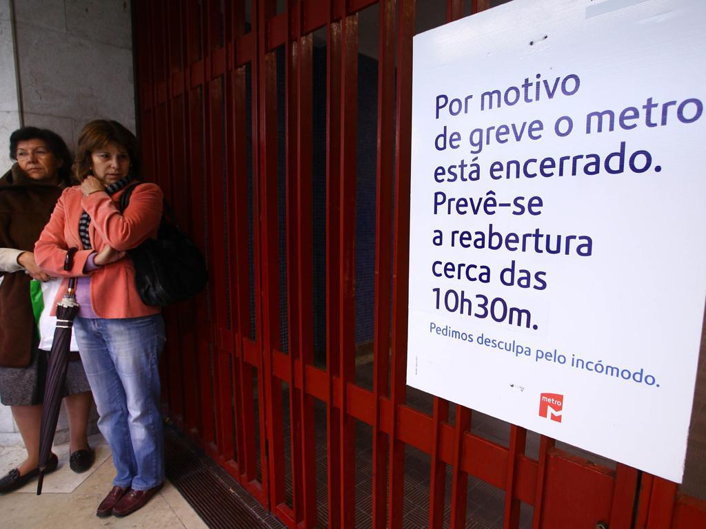 Greve pará transportes em Lisboa e Porto (Lusa)