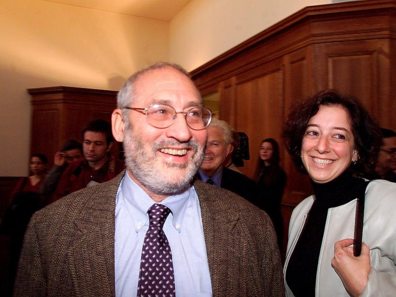 Joseph Stiglitz  - Nobel da Economia 2001