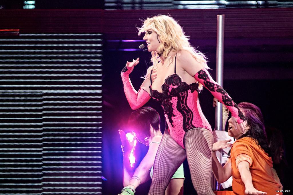 Britney Spears no Pavilhão Atlântico (foto: Manuel Lino)
