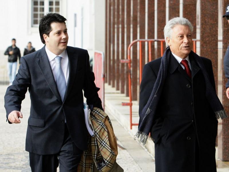 Paulo e José Penedos (Paulo Novais/LUSA)