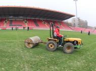 Visita ao estádio de Zenica (10/11/11)