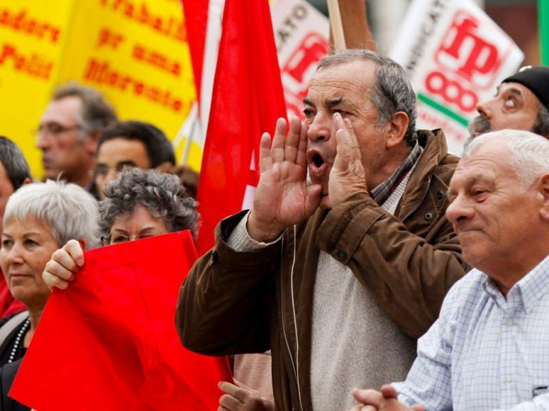 Manifestação dos funcionários públicos [LUSA]