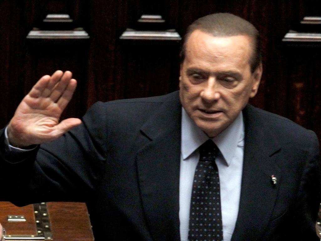 Berlusconi despede-se do Parlamento [REUTERS/Alessandro Bianchi]