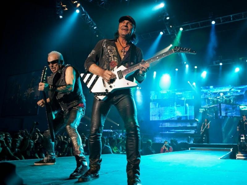 Concerto dos Scorpions no Pavilhão Atlântico (foto: Rui M. Leal)
