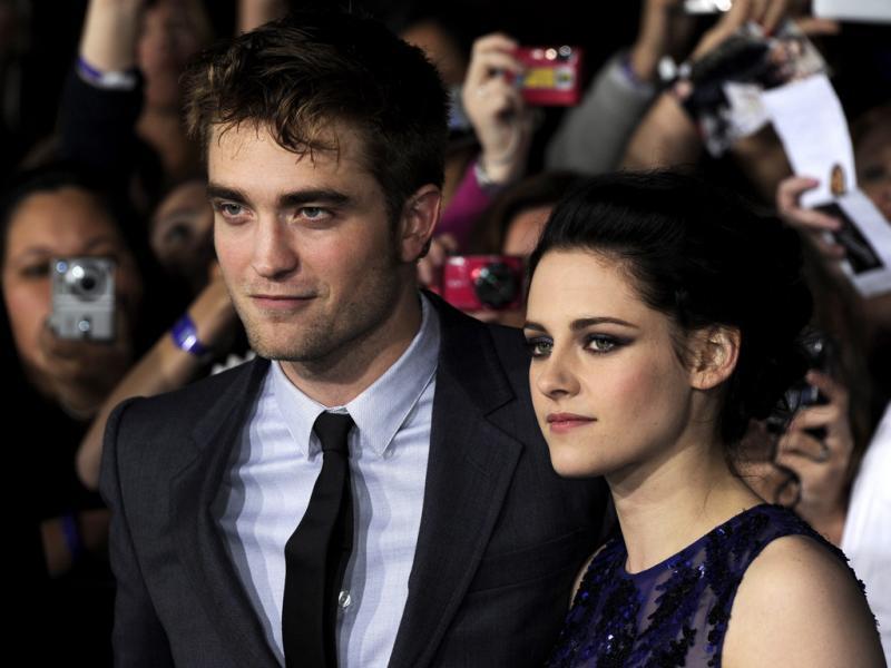 Antestreia de Amanhecer: Robert Pattinson e Kristen Satewart (LUSA)