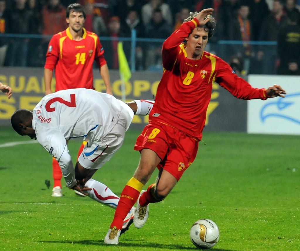 Montenegro vs Rep. Checa (EPA/Boris Pejovic)