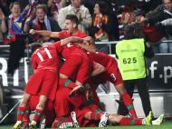 Selecção no Euro - Portugal x Bósnia (Foto: Catarina Morais)