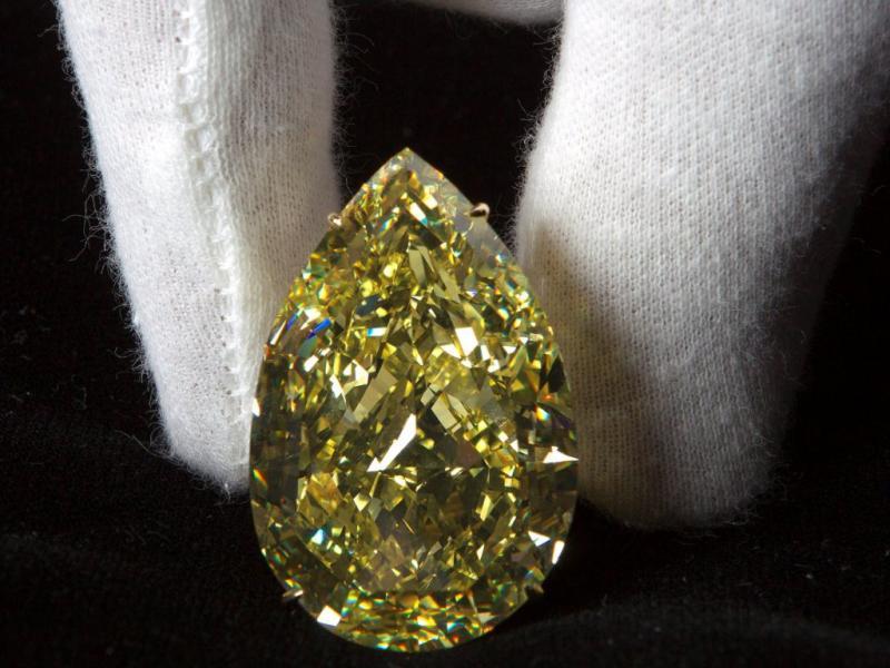 Diamante «Gota de Sol» - foto EPA/Salvatore Di Nolfi