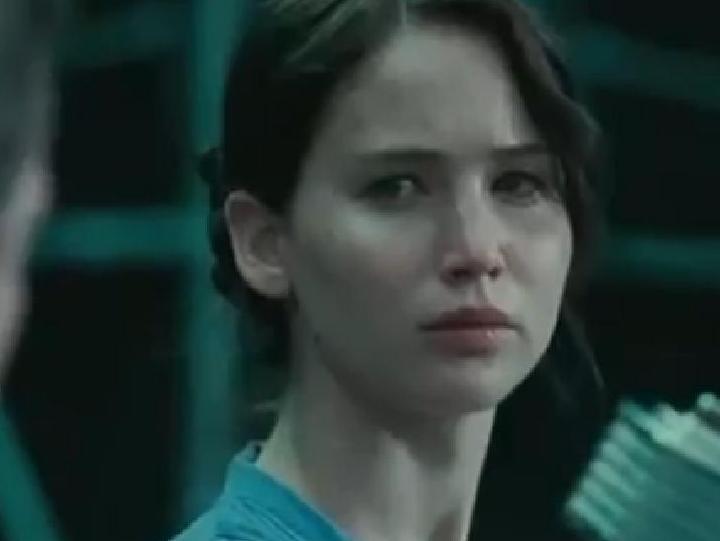 Jennifer Lawrence morena em «The Hunger Games» - frame
