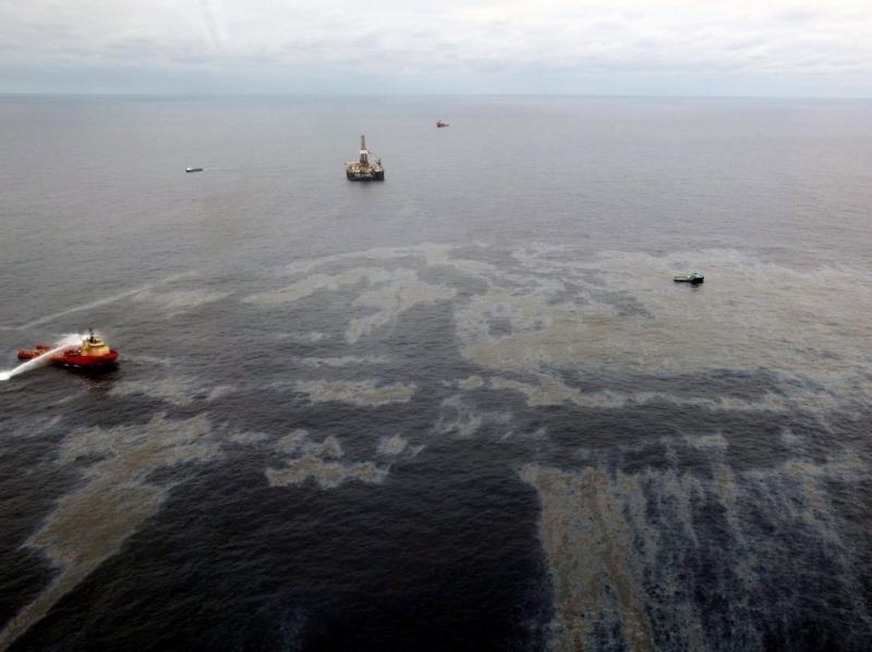 Derrame de petróleo no Rio de Janeiro ( EPA/ROGERIO SANTANA)