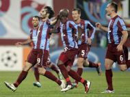 Trabzonspor vs Inter de Milão (EPA)
