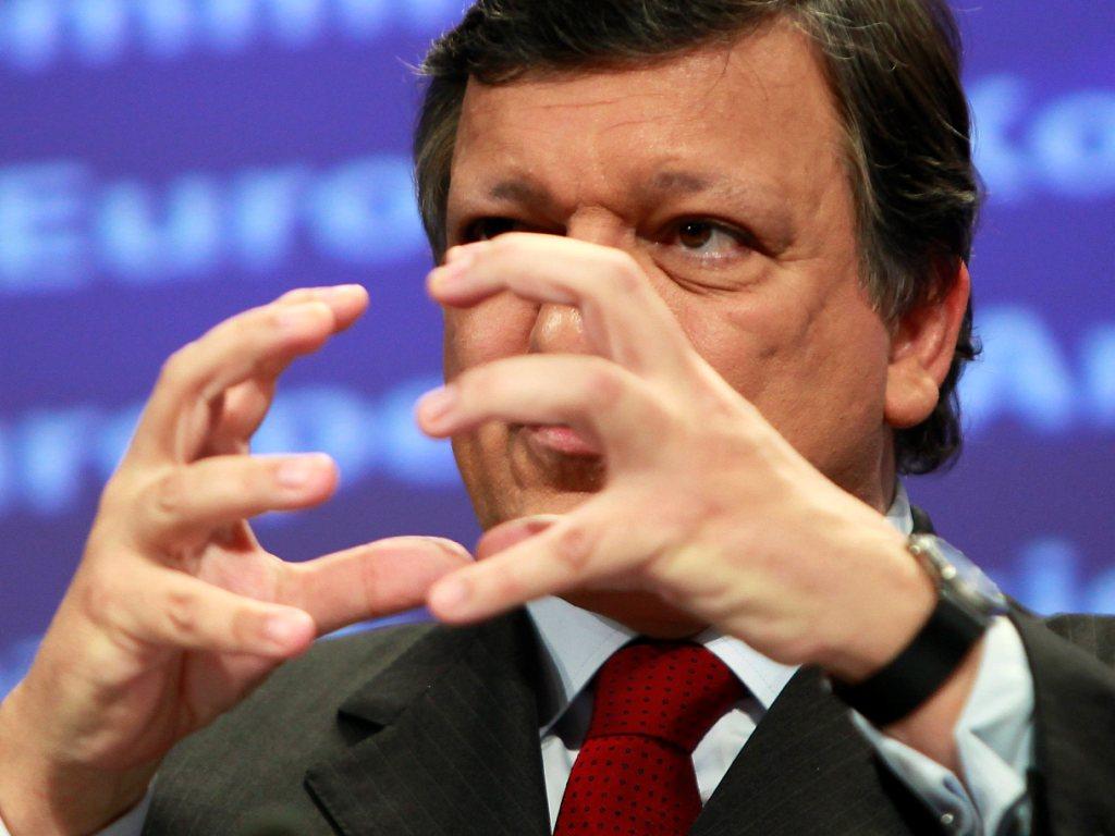 Durão Barroso no Conselho Europeu 23/Nov