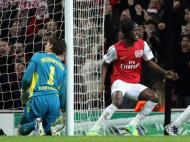 Arsenal vs B. Dortmund (EPA)
