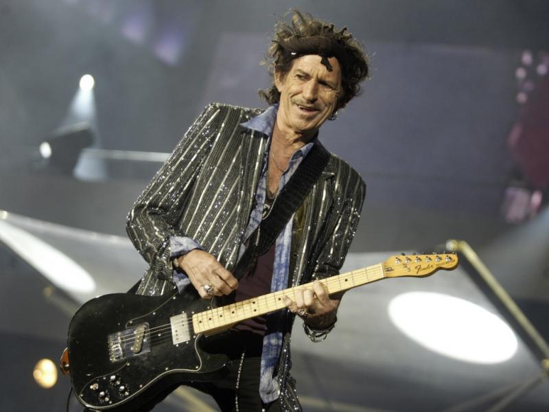 4. Keith Richards