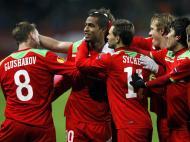 Lokomotiv Moscow vs Sturm Graz (EPA/YURI KOCHETKOV)